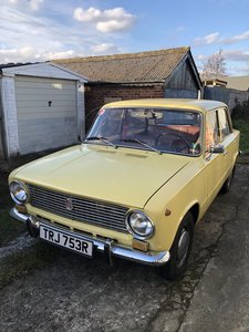 1977 Lada 2101 UK Registered