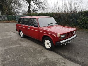 1993 Enthusiast owned Lada Riva estate. Must be seen.