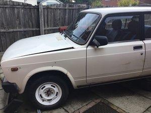 1991 H reg Lada Riva 1300 Select RHD