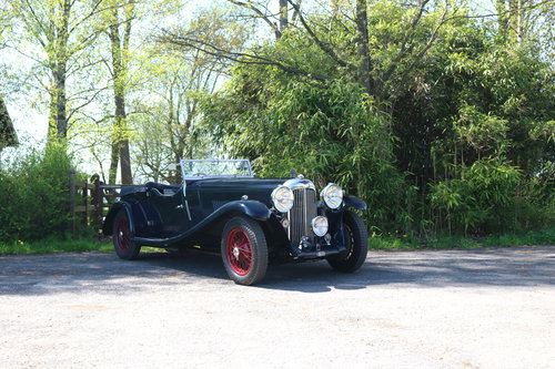 1934 Very Original Lagonda M35 Rapide Tourer T9 For Sale (picture 1 of 5)