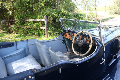 1934 Very Original Lagonda M35 Rapide Tourer T9 For Sale (picture 2 of 5)