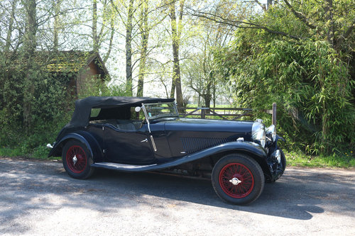 1934 Very Original Lagonda M35 Rapide Tourer T9 For Sale (picture 5 of 5)