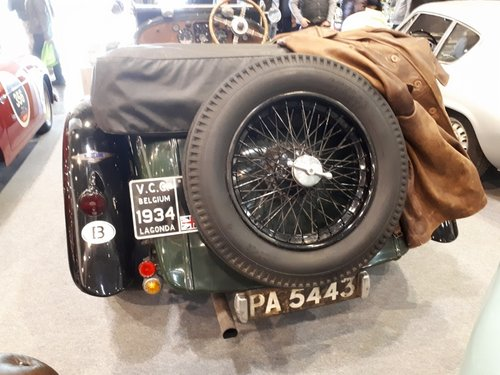 Very stunning Lagonda M 45 Tourer from 1934 SOLD (picture 6 of 6)