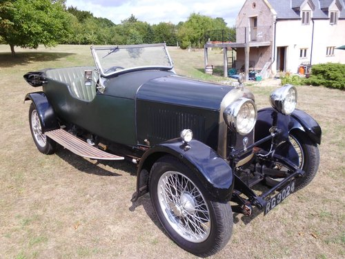 1927 Lagonda Speed Model high chassis sports Tourer  SOLD (picture 1 of 6)