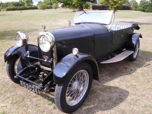 1927 Lagonda Speed Model high chassis sports Tourer  SOLD (picture 3 of 6)
