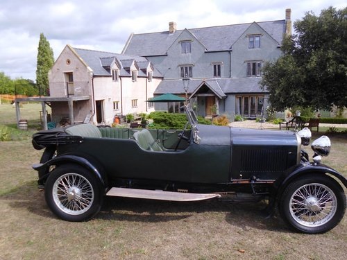 1927 Lagonda Speed Model high chassis sports Tourer  SOLD (picture 4 of 6)