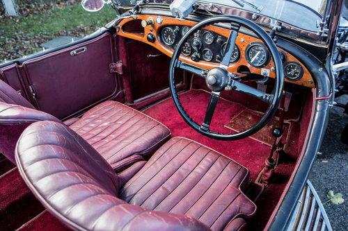 1930 Lagonda 2-Litre Low Chassis Speed Model Tourer Supercharged SOLD (picture 5 of 6)