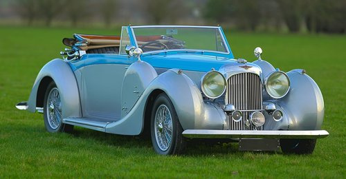 1939 Lagonda V-12 Drophead Coupé For Sale (picture 1 of 6)