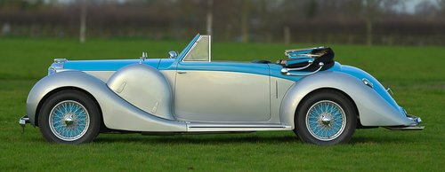 1939 Lagonda V-12 Drophead Coupé For Sale (picture 2 of 6)