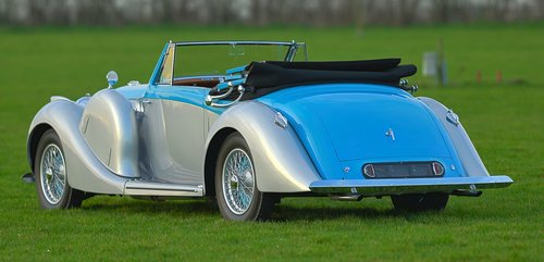 1939 Lagonda V-12 Drophead Coupé For Sale (picture 3 of 6)