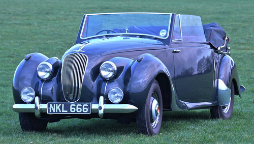 1951 Lagonda 2.6-Litre Drophead Coupé For Sale (picture 1 of 6)