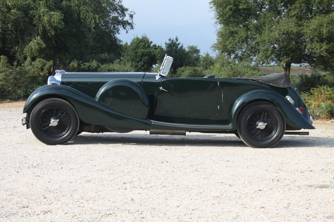 1936 Lagonda LG45 Tourer - every owner from new SOLD (picture 1 of 12)