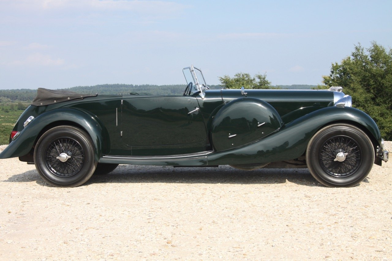 1936 Lagonda LG45 Tourer - every owner from new SOLD (picture 2 of 12)