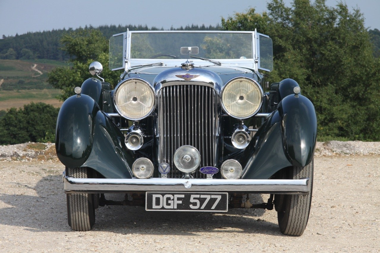 1936 Lagonda LG45 Tourer - every owner from new SOLD (picture 3 of 12)
