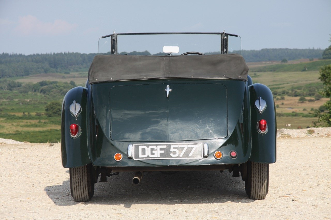 1936 Lagonda LG45 Tourer - every owner from new SOLD (picture 4 of 12)
