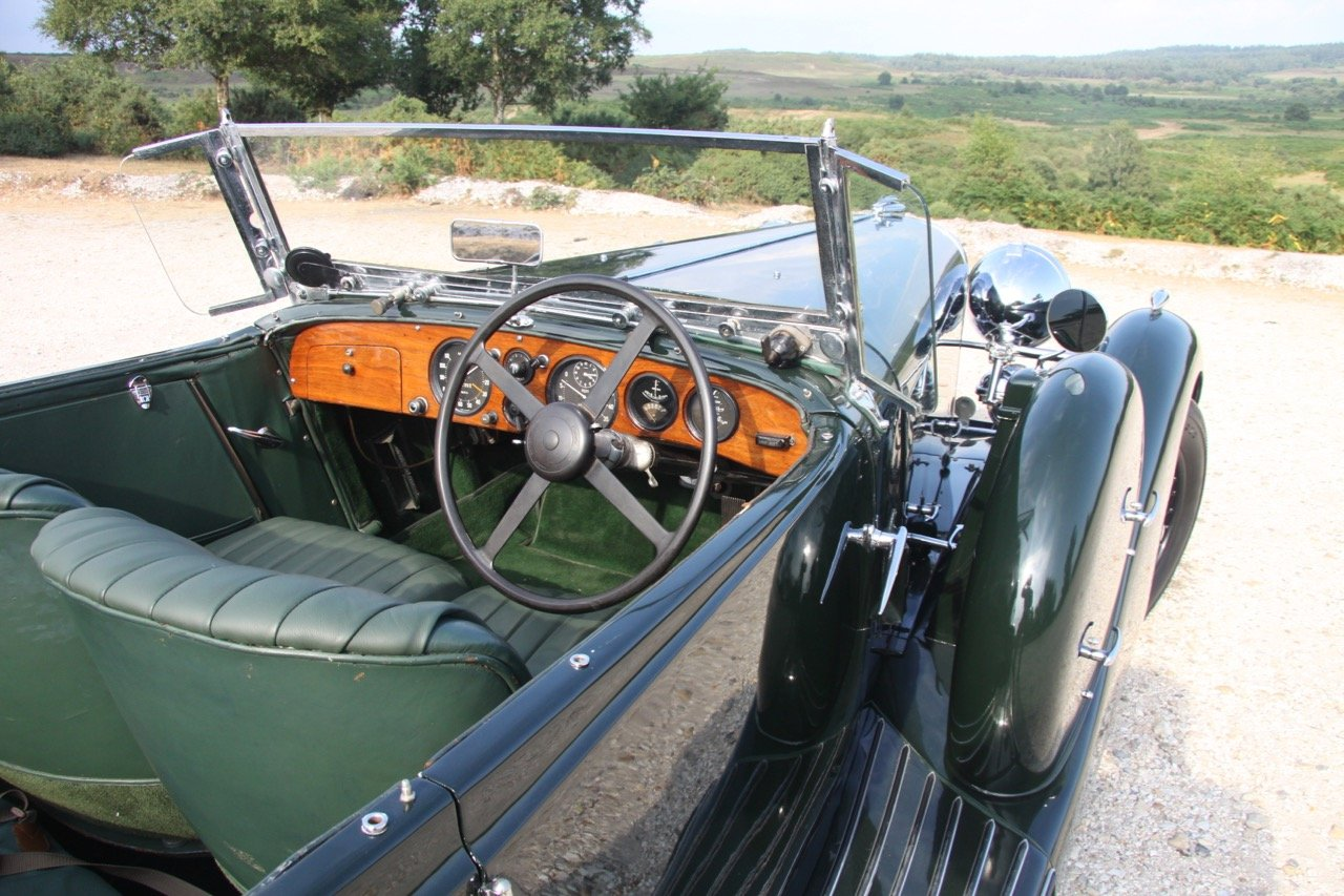 1936 Lagonda LG45 Tourer - every owner from new SOLD (picture 5 of 12)