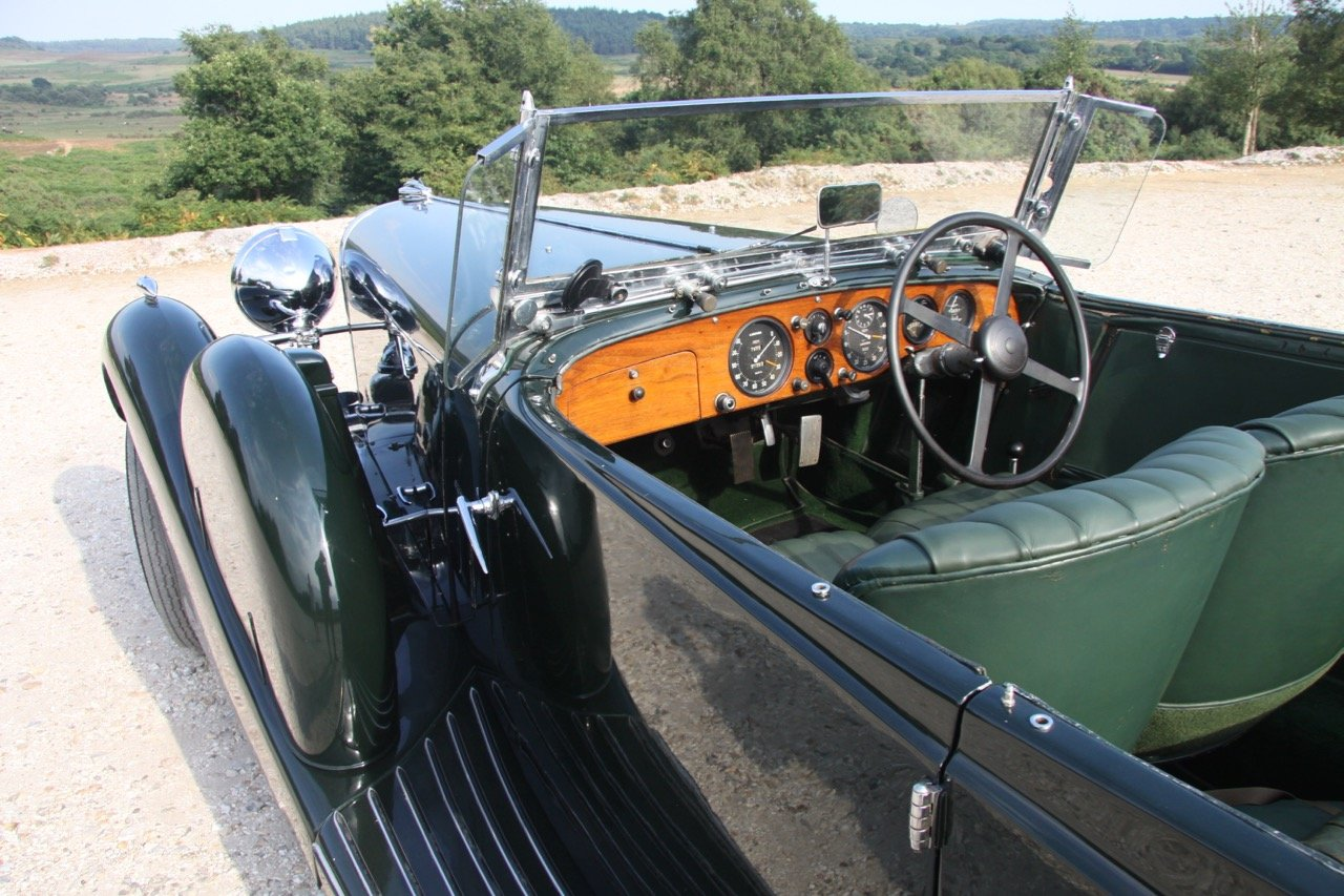 1936 Lagonda LG45 Tourer - every owner from new SOLD (picture 6 of 12)