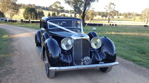 1939 Rare Lagonda V12 long saloon For Sale