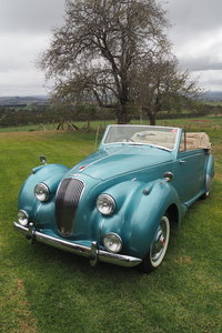 1950 Purchased for current owner's mother from Sydney Motor Show