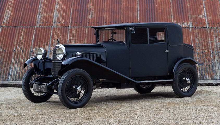 "1929 LAGONDA 2 LITRE HIGH CHASSIS ""HONEYMOON COUPE"" BY WEYMA For Sale (picture 1 of 6)"