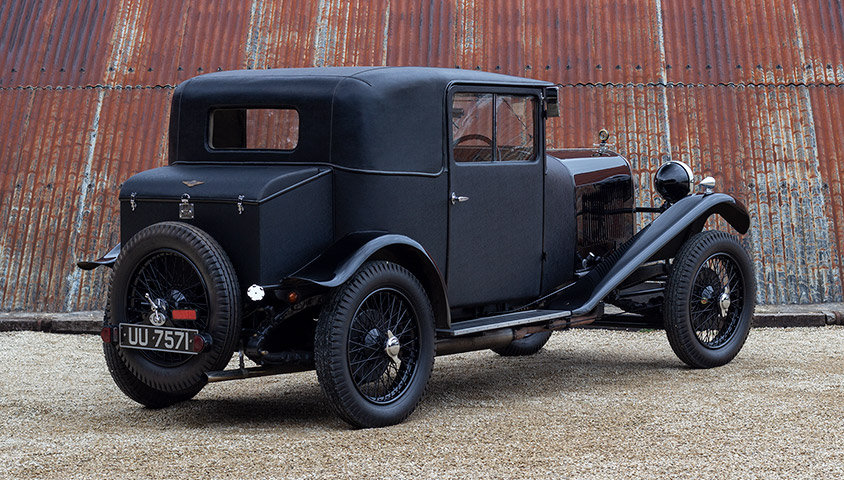 "1929 LAGONDA 2 LITRE HIGH CHASSIS ""HONEYMOON COUPE"" BY WEYMA For Sale (picture 3 of 6)"