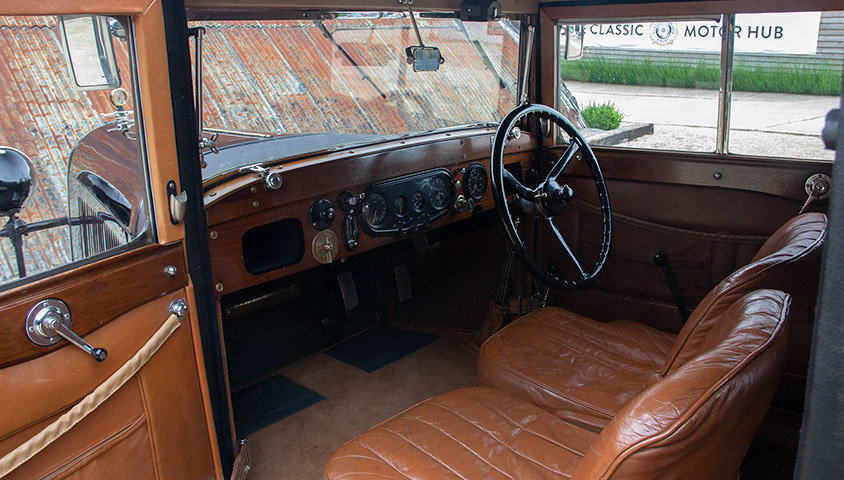 "1929 LAGONDA 2 LITRE HIGH CHASSIS ""HONEYMOON COUPE"" BY WEYMA For Sale (picture 5 of 6)"