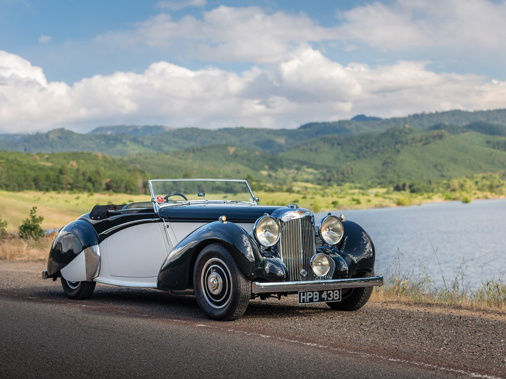 1938 Lagonda V-12 Rapide Drophead Coupe  For Sale by Auction (picture 1 of 6)