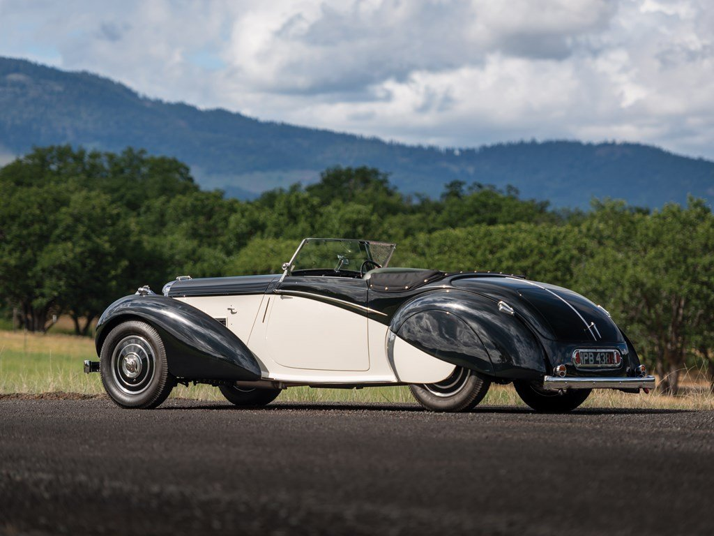 1938 Lagonda V-12 Rapide Drophead Coupe  For Sale by Auction (picture 2 of 6)
