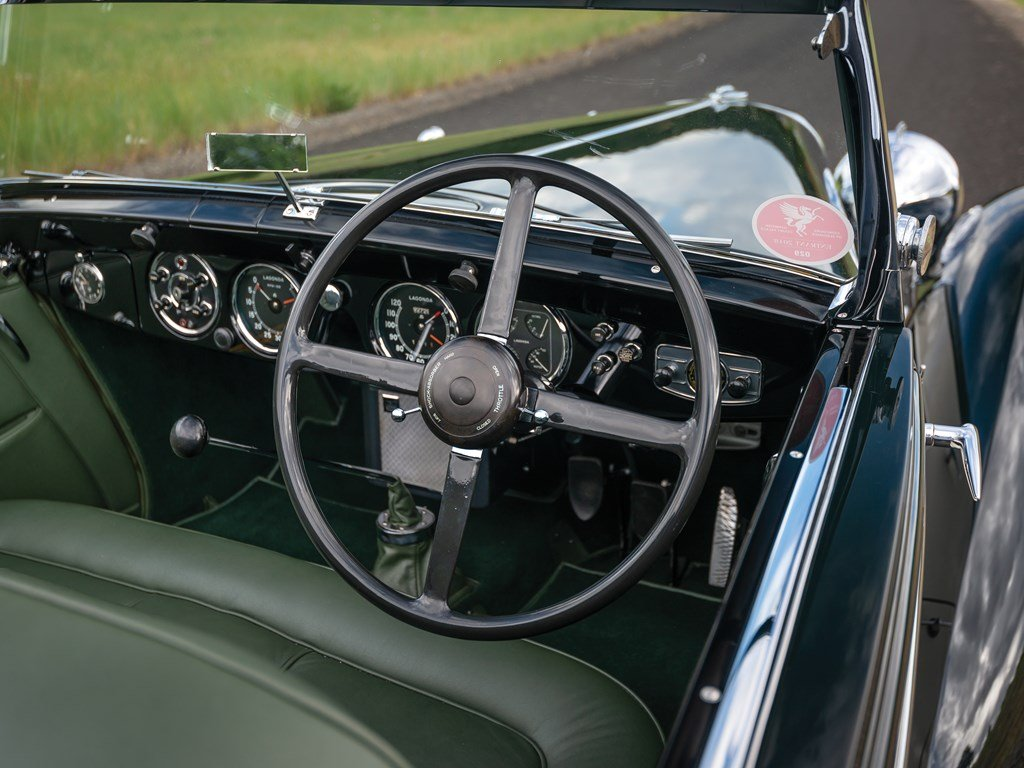 1938 Lagonda V-12 Rapide Drophead Coupe  For Sale by Auction (picture 4 of 6)