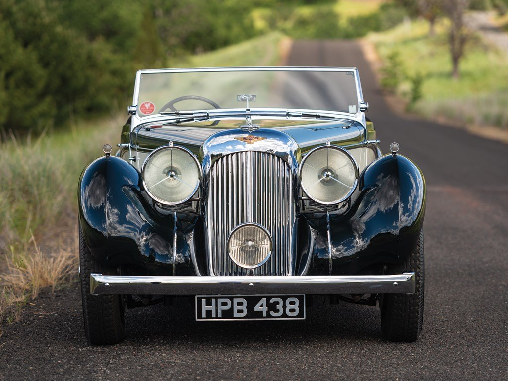 1938 Lagonda V-12 Rapide Drophead Coupe  For Sale by Auction (picture 6 of 6)