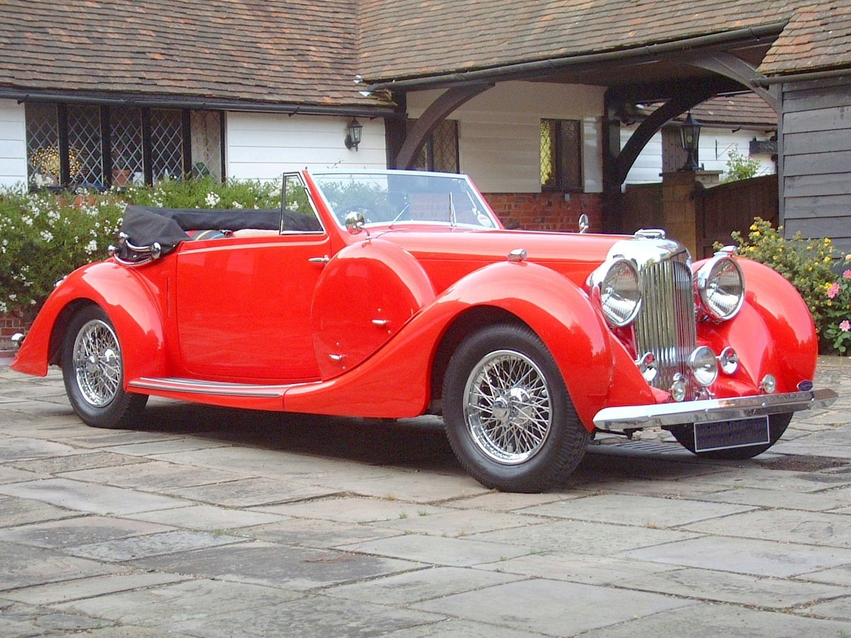 1938 SUPERB RESTORED LAGONDA LG 6 For Sale (picture 5 of 6)