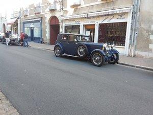 1932 Lagonda 3 litre saloon