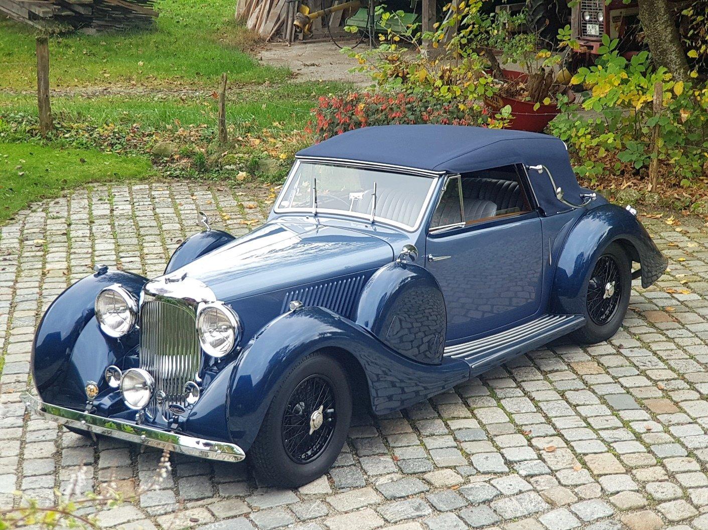 1938 Lagonda LG 6 Drop Head Coupé For Sale (picture 1 of 6)