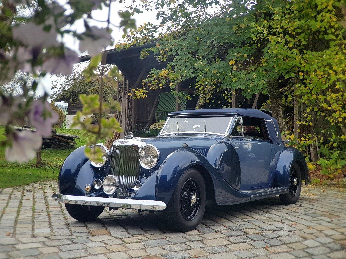1938 Lagonda LG 6 Drop Head Coupé For Sale (picture 4 of 6)
