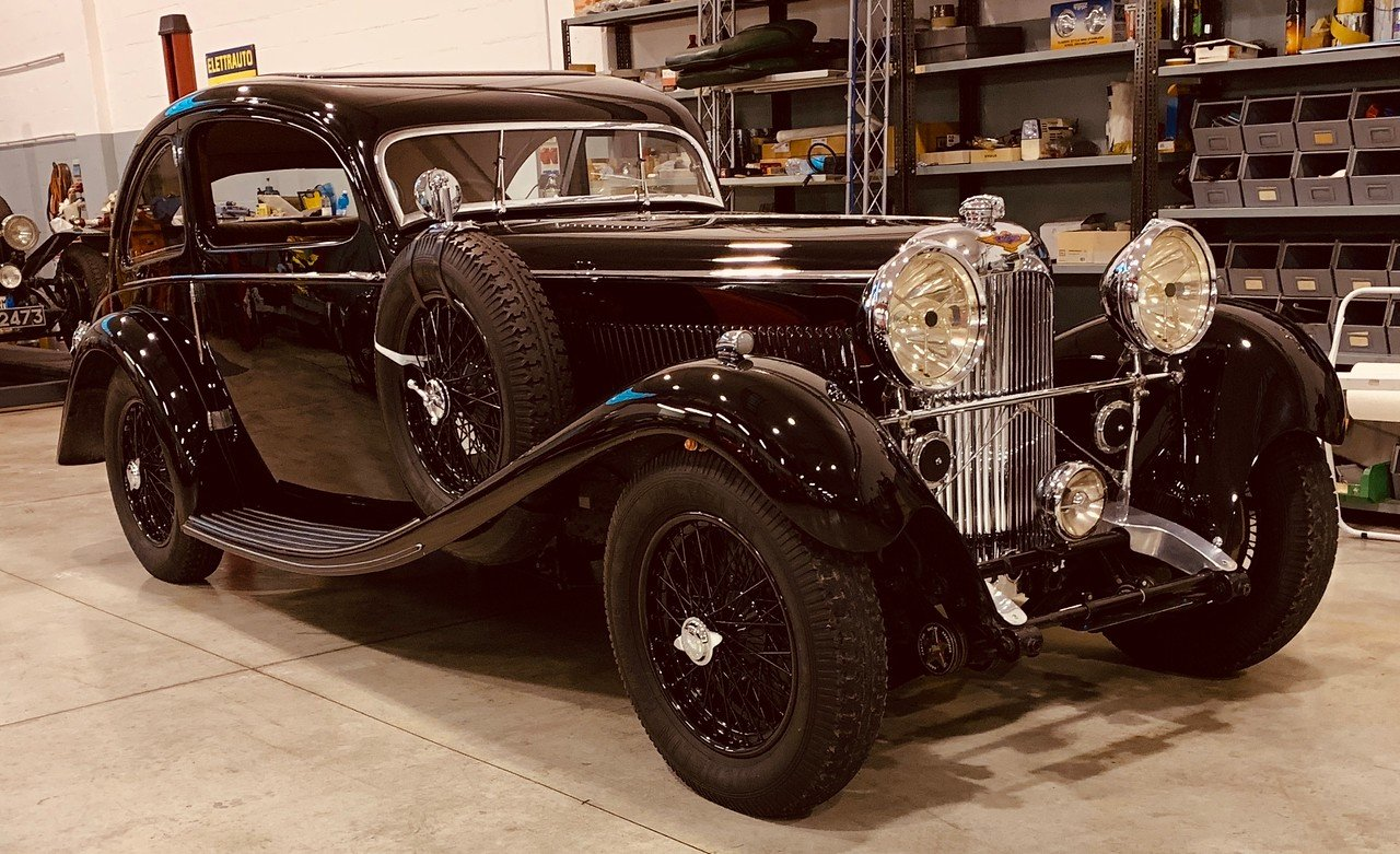 1934 Lagonda M45 Earls Court Show Coupe by Brainsby Woolard For Sale (picture 1 of 6)