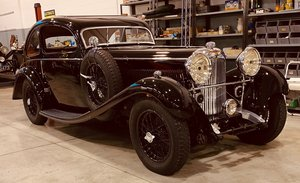 1934 Lagonda M45 Earls Court Show Coupe by Brainsby Woolard For Sale