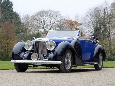 1939 Lagonda V12 Drophead Coupe For Sale by Auction (picture 1 of 6)