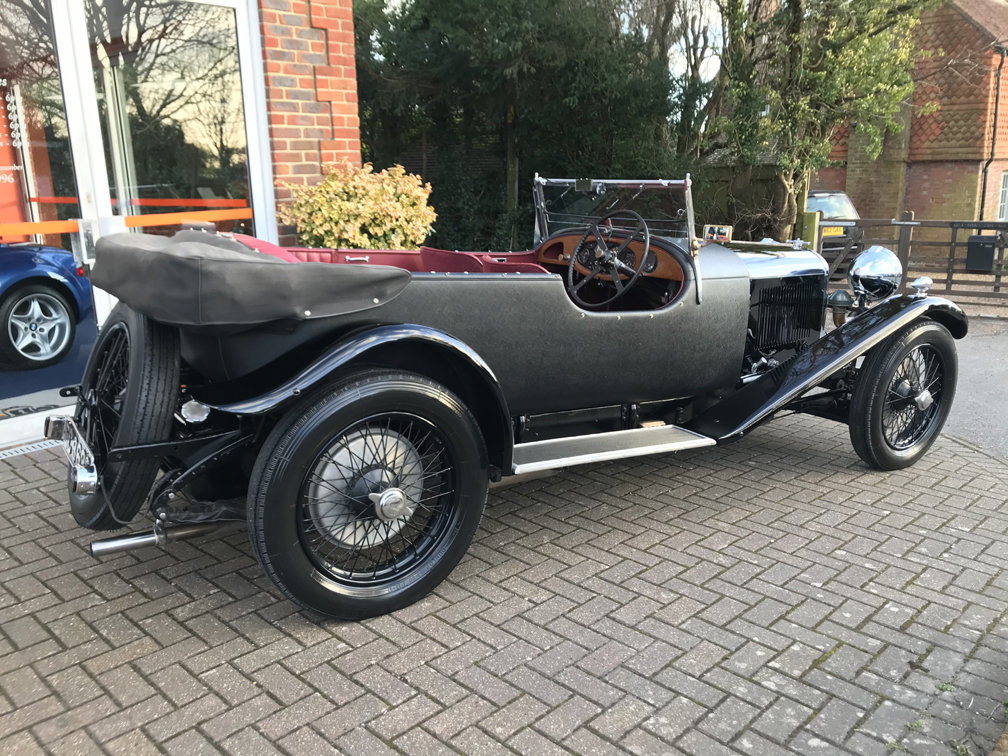 1930 LAGONDA 2-LITRE LOW CHASSIS SPEED MODEL TOURER SOLD (picture 4 of 6)