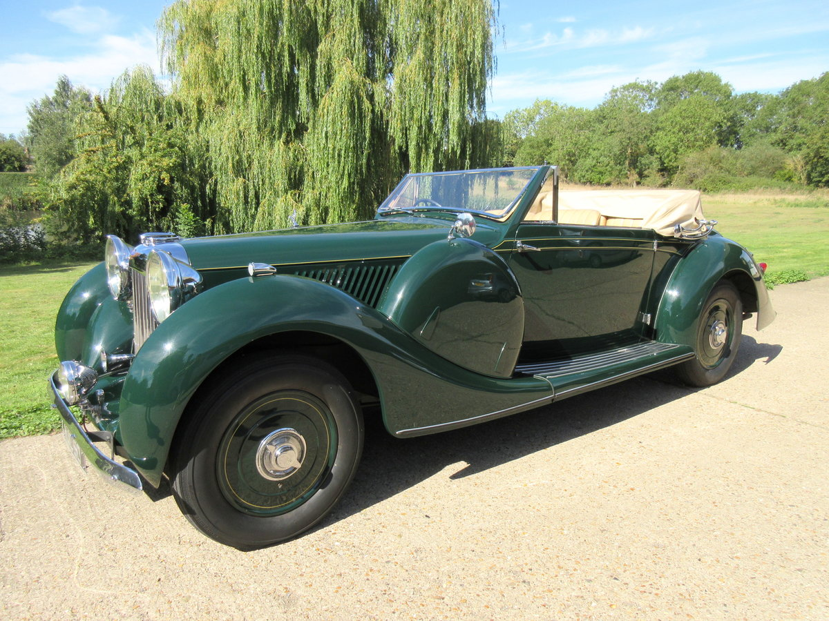 1939 Lagonda LG6 Roadster DHC For Sale (picture 1 of 6)