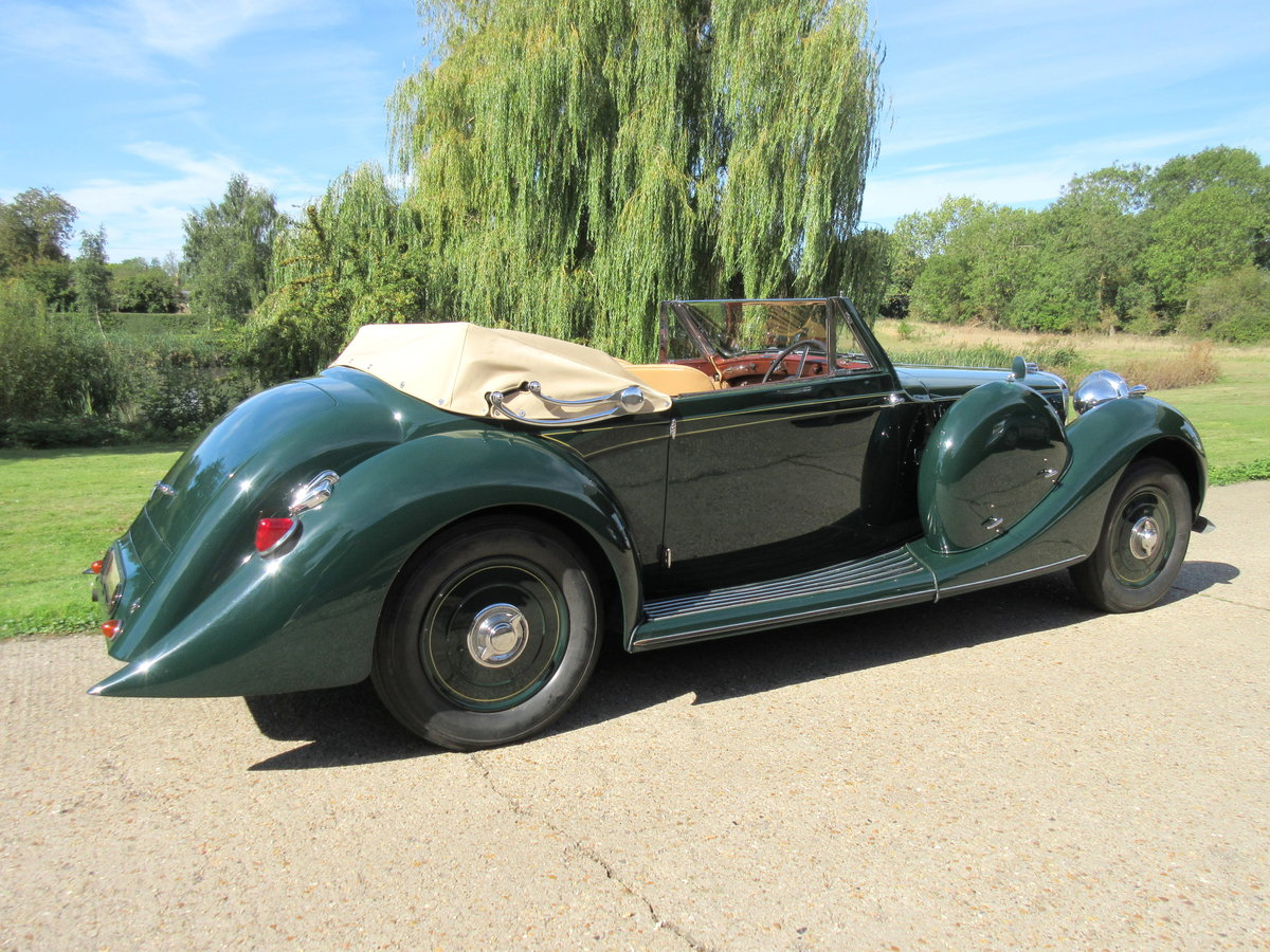 1939 Lagonda LG6 Roadster DHC For Sale (picture 3 of 6)
