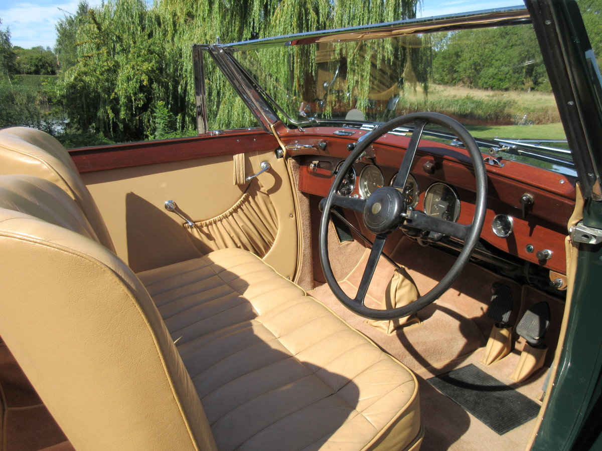 1939 Lagonda LG6 Roadster DHC For Sale (picture 4 of 6)