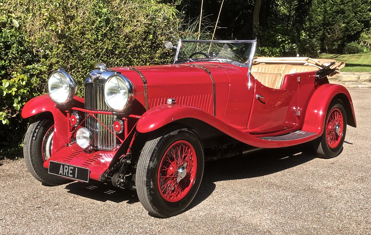1934 LAGONDA S TYPE 16/80 Tourer  For Sale (picture 1 of 6)