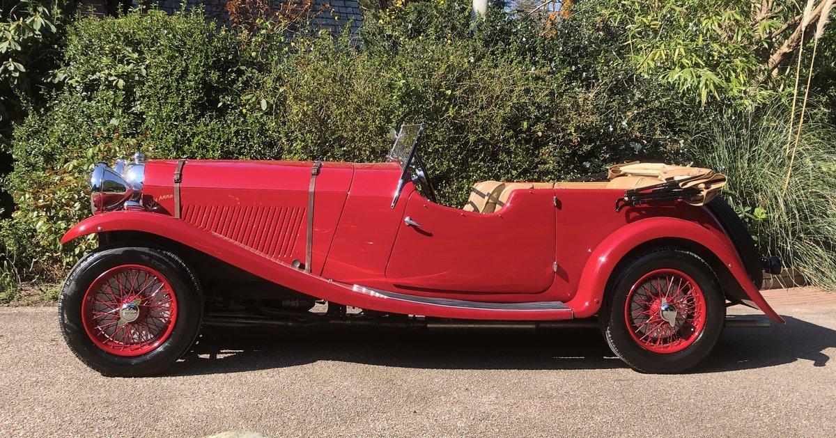 1934 LAGONDA S TYPE 16/80 Tourer  For Sale (picture 2 of 6)