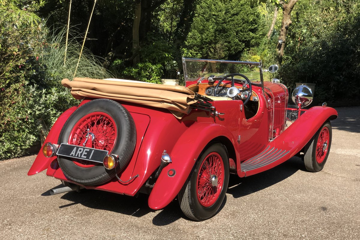 1934 LAGONDA S TYPE 16/80 Tourer  For Sale (picture 3 of 6)