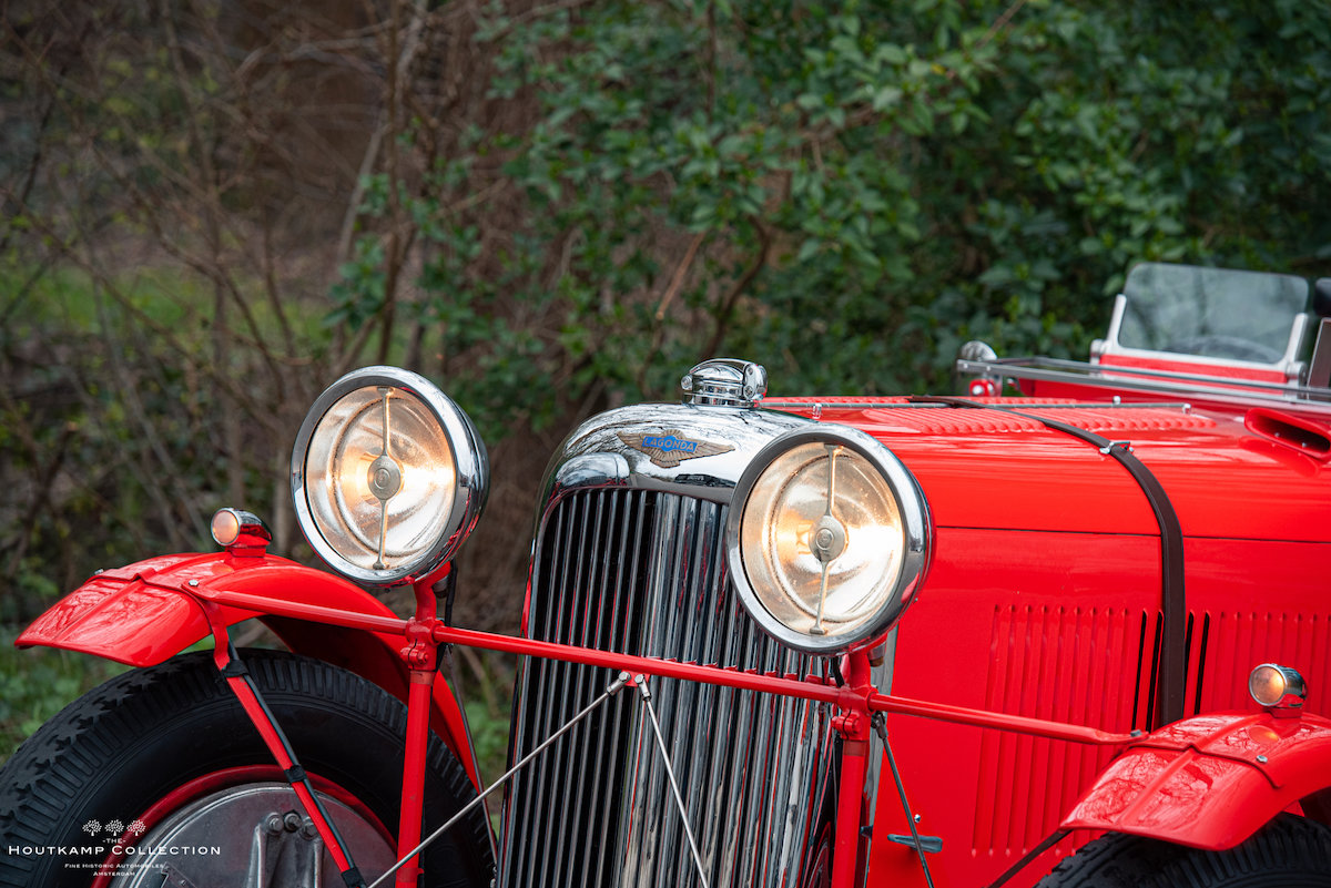 1936 LAGONDA LG45, a thrilling and superb event entrant For Sale (picture 2 of 6)