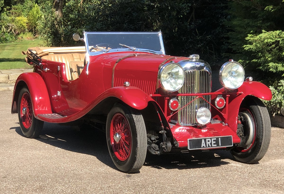 1934 LAGONDA S TYPE 16/80 T7 Tourer For Sale (picture 1 of 6)
