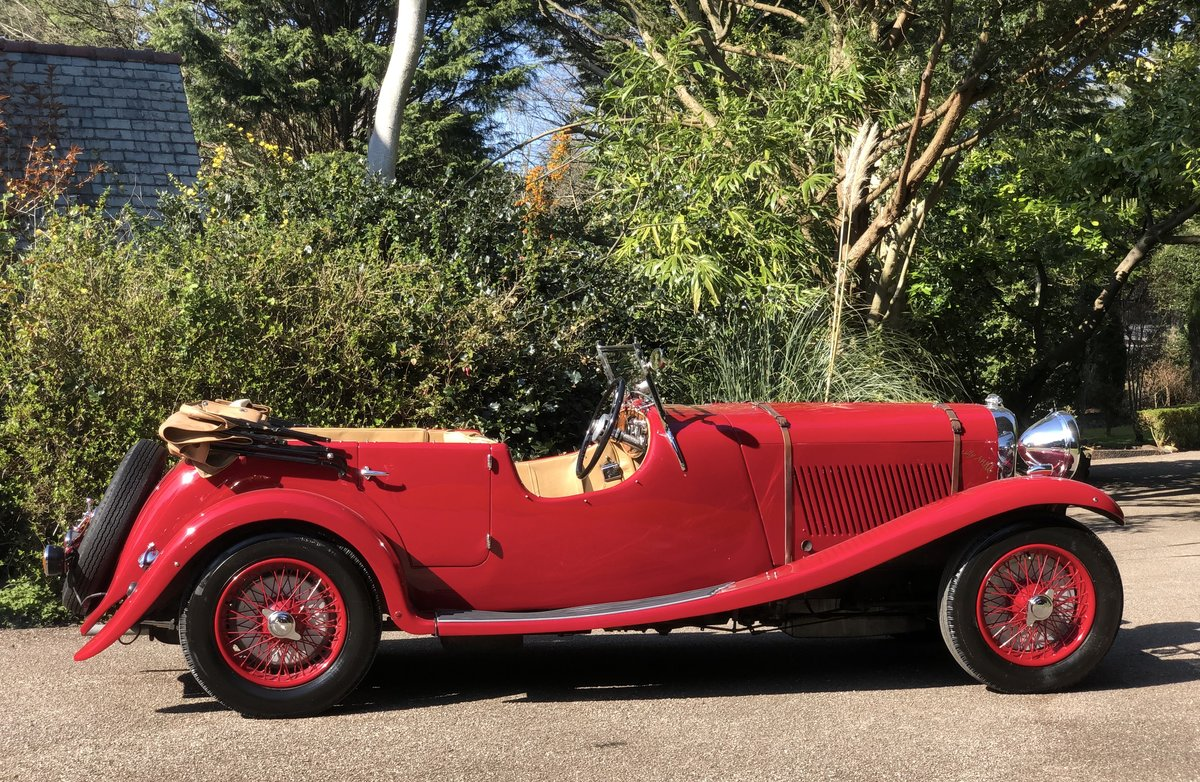 1934 LAGONDA S TYPE 16/80 T7 Tourer For Sale (picture 3 of 6)