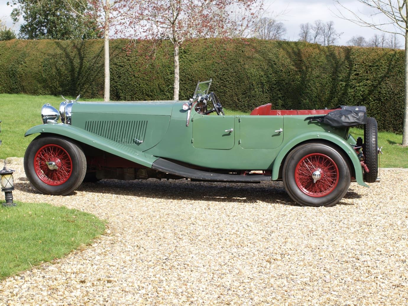 1934 Lagonda 3L Tourer with M45 style body For Sale (picture 2 of 6)