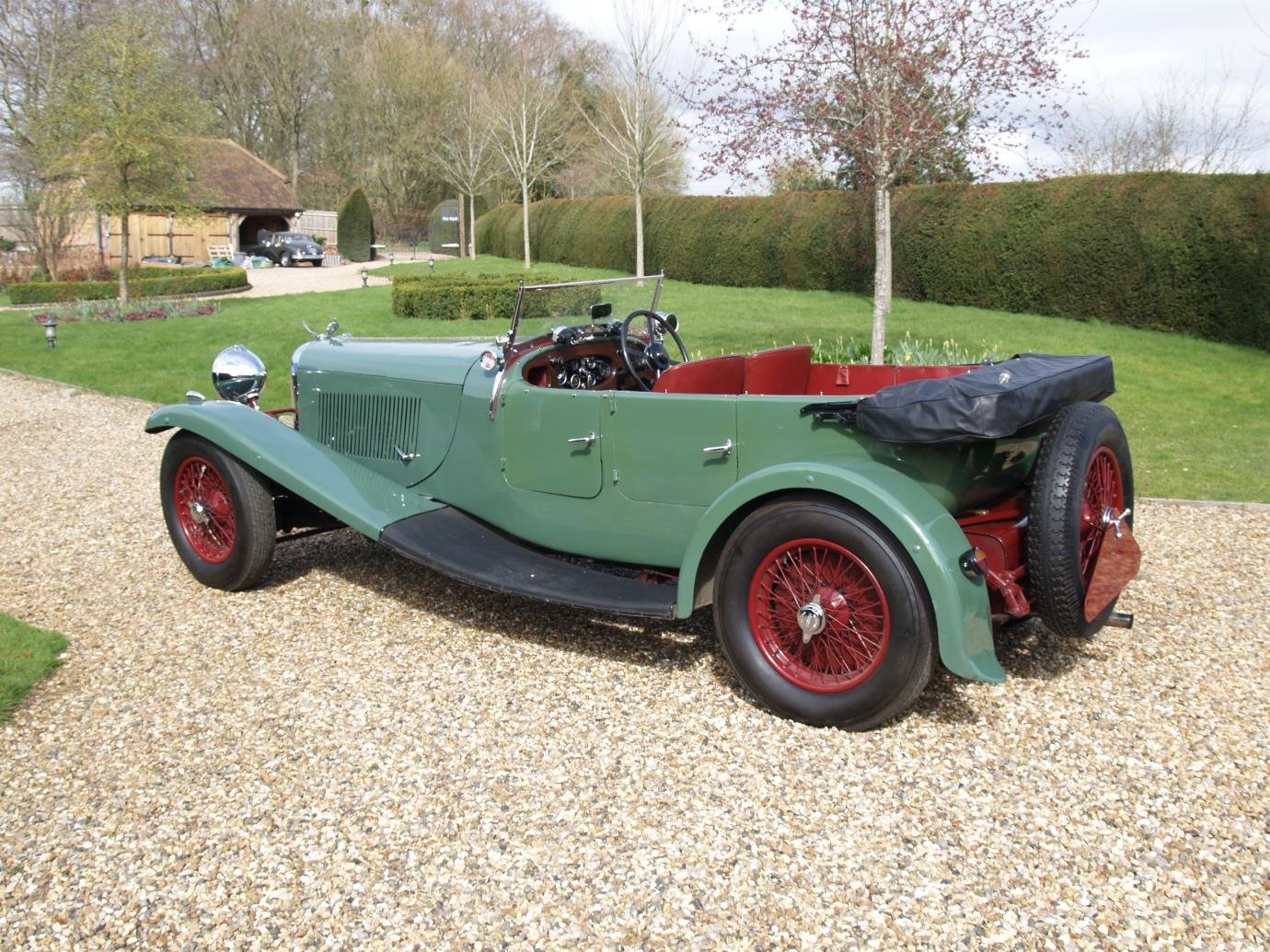 1934 Lagonda 3L Tourer with M45 style body For Sale (picture 4 of 6)