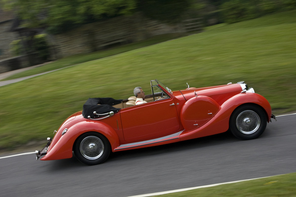 1938 Lagonda LG6 Drop Head Coupe For Sale (picture 2 of 6)